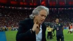 La celebración de Jorge Jesús para los sordomudos del Flamengo