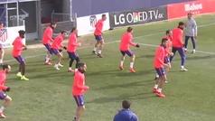 Simeone perfila un once sin Diego Costa y con Koke ya recuperado