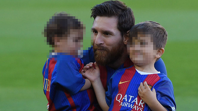 Lionel messi son something