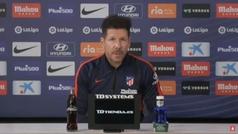 """Simeone: """"Entramos en la zona Suárez, está acostumbrado a estos partidos"""""""