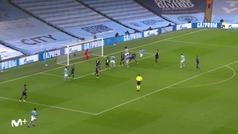 Gol de Sergio Agüero (2-0) en el Manchester City 2-0 Marsella