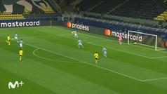Gol de Bellingham (1-0) en el Borussia Dortmund 1-2 Manchester City