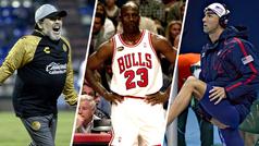 Maradona, Jordan, Phelps y el lado oscuro de las estrellas del deporte
