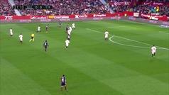 Gol de Oro (J23): Gol de Orellana (0-1) en el Sevilla 2-2 Eibar