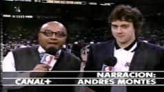 """Lo mejor del """"jugón"""" Andrés Montes, la voz de la NBA en España"""