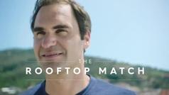 Federer sorprende a dos jóvenes italianas y les regala un campus en la academia de Nadal