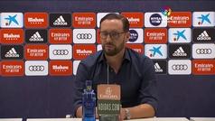 """Bordalás, no se engaña con la Champions: """"Siendo realistas, está muy difícil"""""""