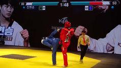 Nace el taekwondo en versión videojuego: ¡barras de energía para decidir el ganador!