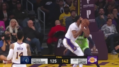 Lakers 142-125 Timberwolves