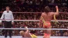 El histórico Hulk Hogan vs Último Guerrero