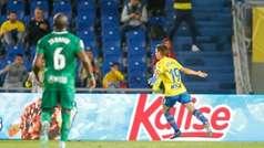 LaLiga 123 (J26): Resumen y goles del Las Palmas 1-0 Sporting