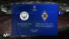 Champions League (octavos vuelta): Resumen y goles del Manchester City 2-0 B. Mönchengladbach