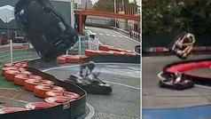 Los peligros del karting de aficionados: ¡terrible accidente en un circuito de Madrid!