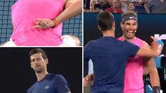 El polémico gesto de Nadal a Djokovic en un dobles benéfico: ¡la cara del serbio es un poema!