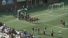 Resumen de la victoria del Betis por 3-4 frente al Chattanooga FC en Estados Unidos