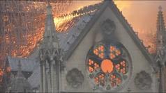 Las obras de restauración de Notre Dame avanzan dos años después de la tragedia