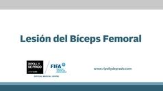 CuídatePlus: Lesión del bíceps femoral
