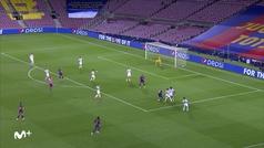 Gol de Messi (2-0) en el Barcelona 3-1 Nápoles