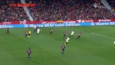 Gol de Sarabia (1-0) en el Sevilla 2-0 Barcelona