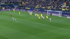 Gol de Mario Suárez (0-1) en el Villarreal 3-1 Rayo Vallecano