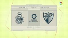 MX: LaLiga (J3): Resumen y goles del Girona 1-0 Málaga