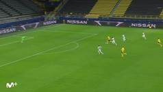 Gol de Haaland (2-0) en el Borussia Dortmund 2-0 Zenit