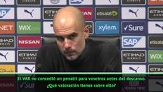 """El resoplido de Guardiola que define el momento del City: """"El año que viene será mejor"""""""