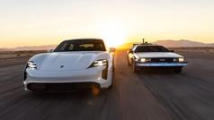 Porsche Taycan y Delorean... encuentros en la tercera fase