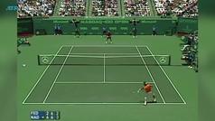 El intercambio de 27 golpes entre Nadal y Federer en la final de Miami 2005