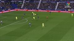 Gol de Luis Suárez (0-1) en el Levante 0-5 Barcelona