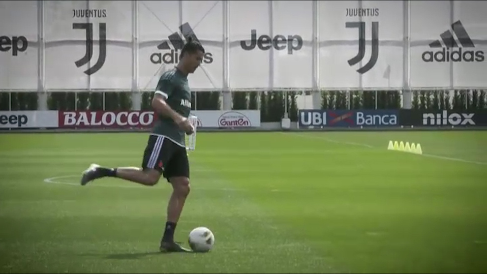 Cristiano y la Juventus ya trabajan para el regreso de la Serie A