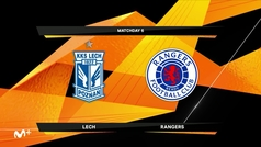 Europa League (J6): Resumen y goles del Lech Poznan 0-2 Glasgow Rangers