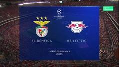 Champions League (Grupo G): Resumen y goles del Benfica 1-2 Leipzig