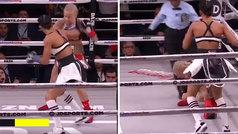 El KO de Amanda Serrano en 37 segundos para entrar en la historia del boxeo