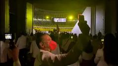 Pura emoción: así entraron los deportistas españoles al estadio