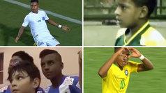 El Madrid dio la bienvenida a Rodrygo con un vídeo de sus mejores jugadas... ¡desde niño!