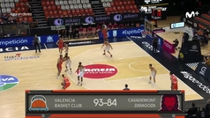 LIGA ACB: VALENCIA 93-84 ZARAGOZA
