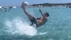 """La chilena más húmeda de Ibrahimovic: """"Dios salve a la Reina"""""""