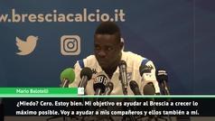 """El órdago de Balotelli a los periodistas: """"Parecéis más asustados que yo"""""""