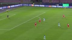 Gol de Mertens (3-0) en el Nápoles 3-1 Estrella Roja