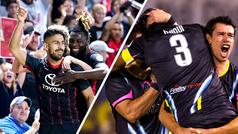Joel Huiqui y Ever Guzmán destacan en la United Soccer League de Estados Unidos