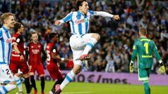 Copa del Rey (semis, ida): Resumen y goles del Real Sociedad 2-1 Mirandés