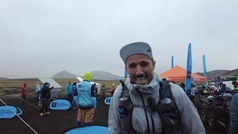 'Hat trick' de Chema Martínez en la Volcano Ultramaratón de Islandia