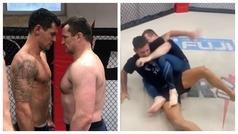 Lovren desafía a una leyenda de la MMA y parece un muñeco de trapo