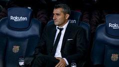 """Valverde: """"Me ha sorprendido el gol de Suárez, pensaba que era un pase"""""""
