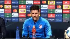 """Simeone: """"Ahora los jugadores quieren venir al Atlético de Madrid"""""""