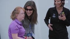 El gestazo que tuvo Gary Woodland, el líder del US Open en Phoenix en febrero pasado con una discapacitada