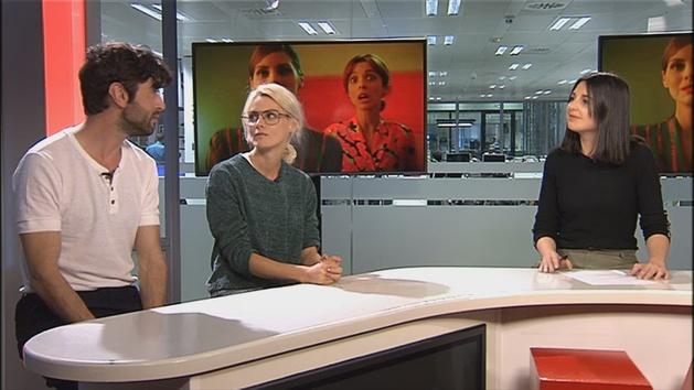 Amaia Salamanca y Javier Rey presentan '¿Qué te juegas?' en 'Ellas dan el golpe'