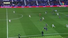 Gol de Roger (2-0) en el Levante 2-0 Valladolid