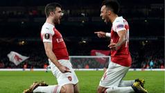 Europa League (1/16, vuelta): Resumen y goles Arsenal 3-0 BATE